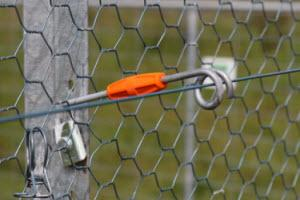 Electric fence component
